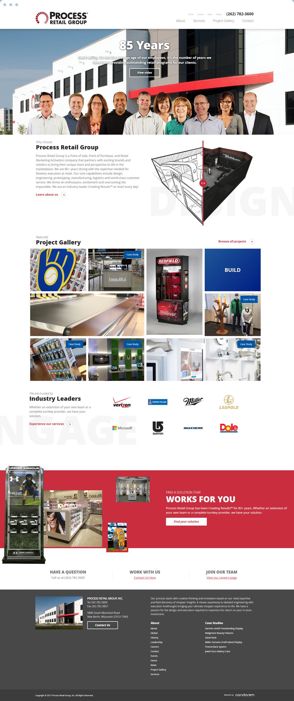 B2B Website Redesign | Madison, Wisconsin
